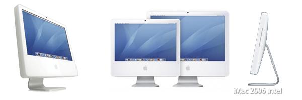 iMac 2006 Intelの機種を確認ください