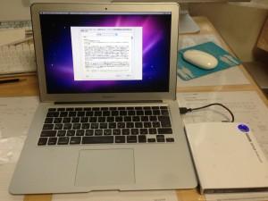 MacBook Airインストール