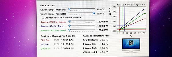 iMac Late2009 のファンコントロール