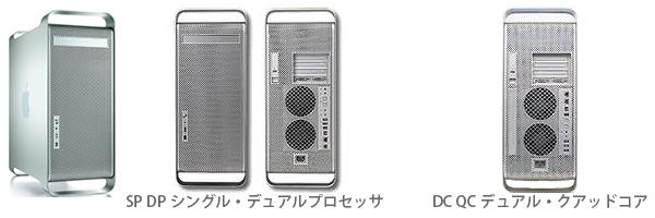 PowerMac G5モデル選択1