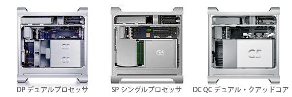 PowerMac G5モデル選択2