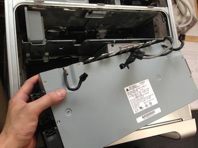PowerMacG5 2.3DC電源が入らない