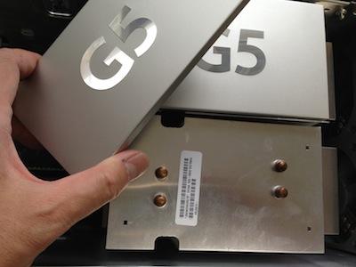 パワーマックG5のCPU交換