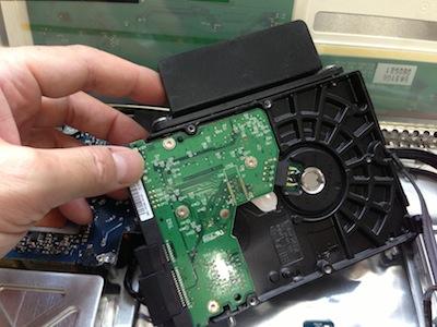 アイマックHDD交換