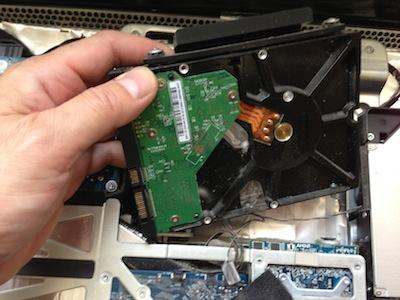 iMac HDD交換