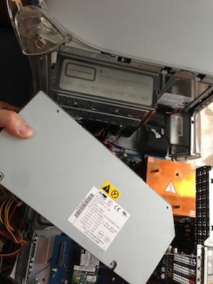 MDD FW800の電源ユニット交換修理