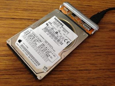 HDD取り出しデータ確認