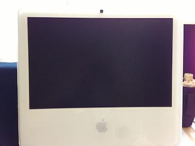 iMac2006電源が入らない