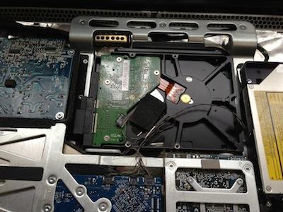 imac2007のHDD交換