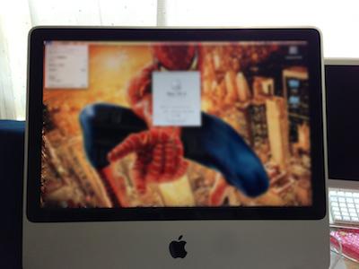 iMac電源ユニット交換修理完了