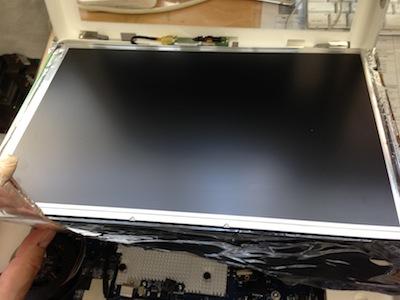 iMac液晶パネルの交換