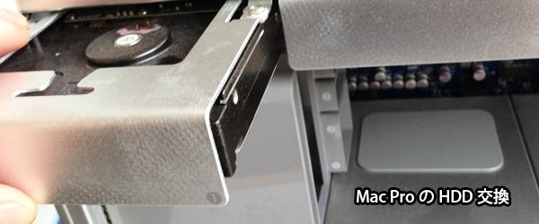 MacProのHDD交換と増設