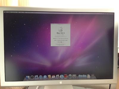 Mac Proビデオカード交換後