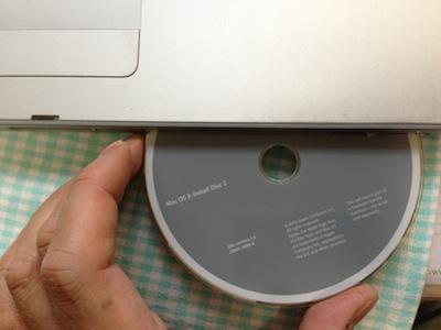 PowerBookG4インストール