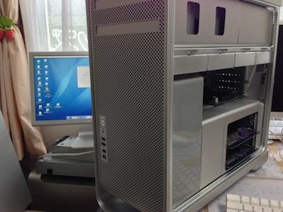 修理後のMac Pro