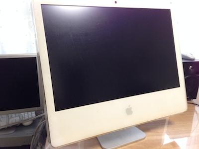 iMacホワイト電源が入らない