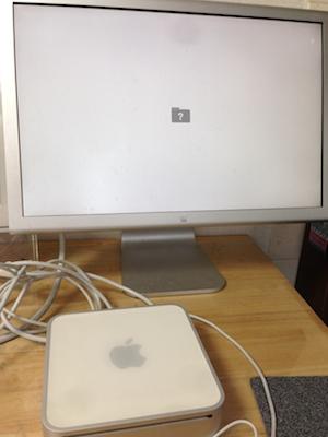 mac mini起動しない