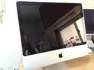 電源が入らないiMac
