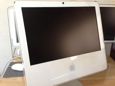iMac画面出力なし