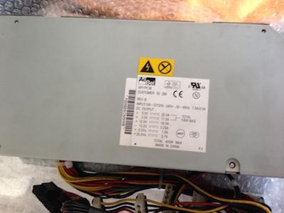 電源ユニット交換修理