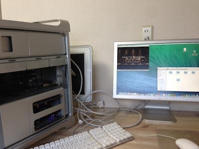 ビデオカード交換後Mac Pro