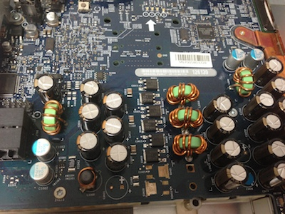 ロジックボード交換iMacG5