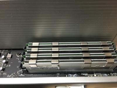 メモリ増設16GB