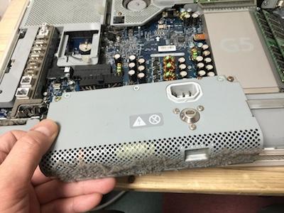iMacG5電源ユニット交換